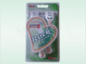 Four Blade Disposable Razors (KD-B4028L Green) pictures & photos