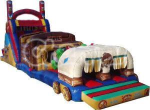 Cowboy Amusement Park Inflatable Obstacle Course Inf001 pictures & photos