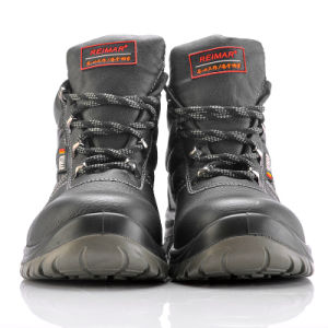 Midlle Cut Safety Shoes with Steel Toe for Workers M-8215 pictures & photos