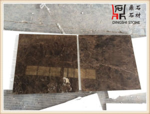 Natural Stone Flooring Emperador Dark From Spain Marble Tile pictures & photos