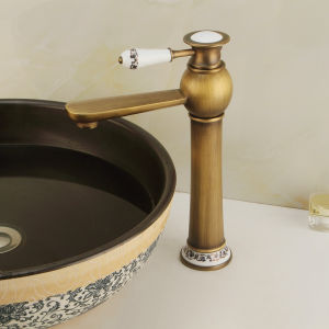 New Model Bathroom Bronze Wash Faucet (6029) pictures & photos