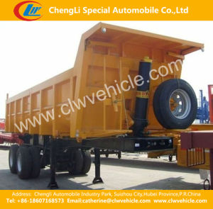 2 Axles Self -Dumping Tipper Semi Trailer /Dump Trailer pictures & photos