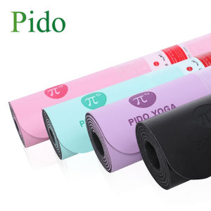 PU Leather Rubber Yoga Mat From Pido Pidegree Pideg pictures & photos