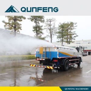 Automatic Road Cleaning Truck High Pressure Rear Spray pictures & photos