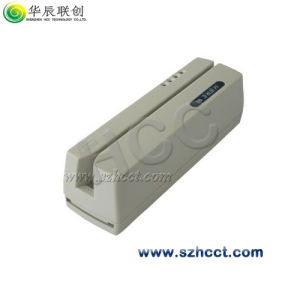 Track1/2/3 Manual Swipe Magnetic Card Reader/Skimmer-Hcc206 pictures & photos