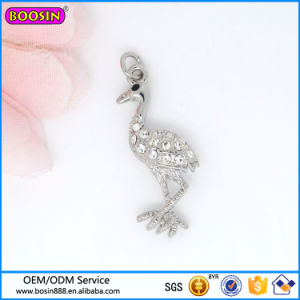 Fashion Tin Alloy Jewelry White Crane Charm Hot Sale 2016 pictures & photos