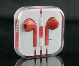 High Quality for iPhone Wired Earphone Custom Color pictures & photos