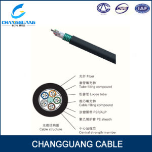 China Factory Professional Manufacturing GYTA/S Optical Fiber Cable Stranded Loose Tube Armored Cable pictures & photos