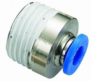 Nickle Plated Brass Fitting with Ce&RoHS&ISO (POC10-01)