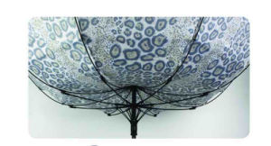 Water Ripple Print Fiberglass Windproof Umbrella (YS-SM23083907R) pictures & photos