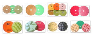 4 Inch Marble Granite Resin Polishing Pad 100mm Diamond Tools pictures & photos