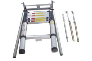 3.2m Telescopic Loft Ladder with 10 Steps pictures & photos