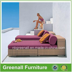 Outdoor Rattan Wicker Luxury Chaise Lounge pictures & photos