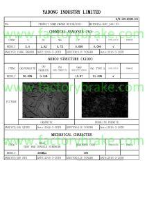 Meritor Brake Disc 082135830/234110/II37191/II31025/0501315228/1415146/1415147 pictures & photos