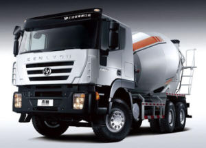 China Iveco Hongyan 380HP Concrete Mixer Truck pictures & photos