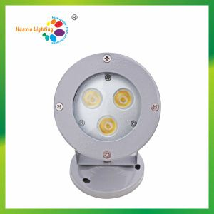 3W Garden LED Lights with Round & Spike Base (HX-HFL98-3W) pictures & photos