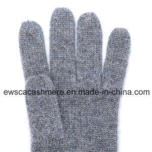 Cashmere Winter Gloves with Five Fingers pictures & photos