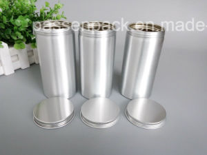Silver Aluminum Tea Canister for Scented Tea Packaging (PPC-AC-046) pictures & photos