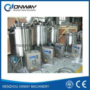 Pl Stainless Steel Jacket Emulsification Mixing Tank Oil Blending Machine Mixer Sugar Solution Paint Shampoo Mixer pictures & photos
