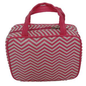 Waved Pattern PU Fashion Handbag pictures & photos