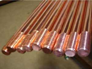 High Strength Cooper Clad Iron Rod Earthing Materials pictures & photos