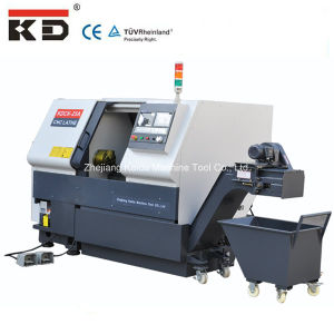 High Precision Slant Bed Metal Turning CNC Lathe Kdck-25A pictures & photos