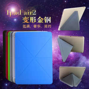 High Quality PU Ultra-Thin Leather Case for iPad Air2 iPad6