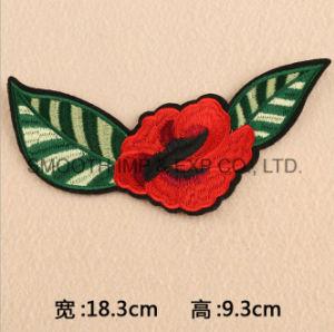 Wholesale Fashion Rose Flower Applique 3D Clothing Embroidery Patch Cotton pictures & photos