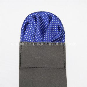 Hot-Sale Classical Men Polyester Dots Pocket Hanky Wholesale pictures & photos