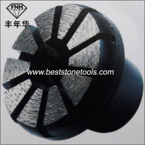3 Inch 10 Segment Metal Diamond Concrete Grinding Plug pictures & photos