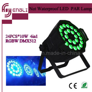 24PCS Stage LED PAR 64 with CE & RoHS (HL-030)