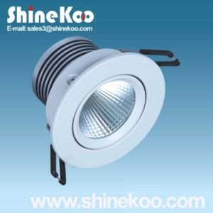 5W Aluminium LED COB Spotlight (SUN12-5W) pictures & photos
