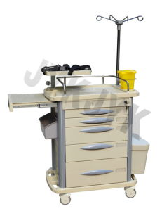 ABS Medical Emergency Trolley Jyk-C10A pictures & photos