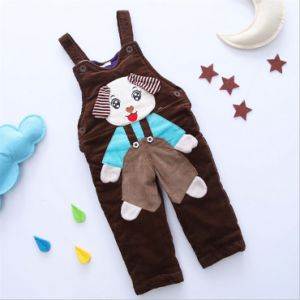 P1126 New Arrival High Quality Baby Overall Thick Warm Rompers Winter Baby Jumpsuit Corduroy Cotton Baby Girl Boy Overalls pictures & photos