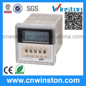 LCD Display Digital Output Solid State Time Relay with CE pictures & photos