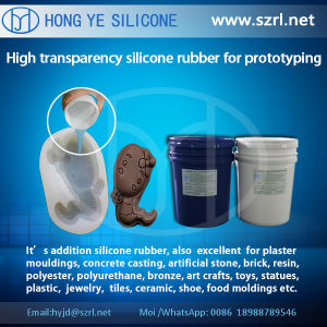 Translucent 40 Shore a Rapid Prototyping Silicone Rubber, Addition Silicone Rubber with Low Shrinkage pictures & photos