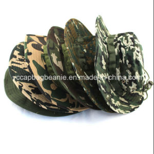 100%Cotton Camouflage Mountain Fishing Bucket Hats pictures & photos