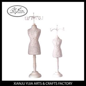 Bust Mannequin Hanger White Lace Decoration