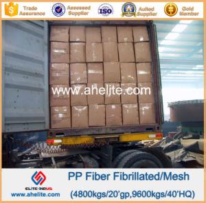 Microfiber Polypropylene PP Mesh Fibrilated Fiber pictures & photos