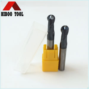 2flutes Altin Coating Ball Nose End Mills pictures & photos