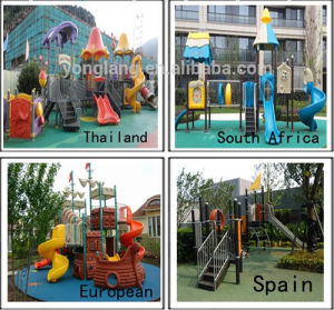 Children Outdoor Playground Trampoline Decorations Set (YL-X147) pictures & photos
