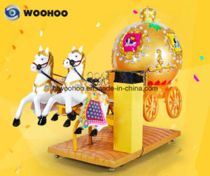 Coin Operated Machine Indoor Playground Rpyal Carriage Wobbler Swing Machine