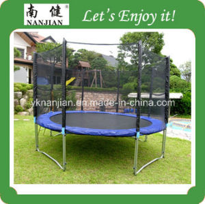 13ft Round Combo Outdoor Trampoline for Adults Nj-Big13 Big Trampoline Park pictures & photos