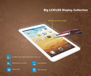 Ultra Clear Tempered Glass Screen Protector for iPad pictures & photos