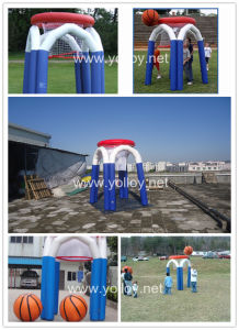 Inflatable Basketball Hoop for Kid Shooting pictures & photos