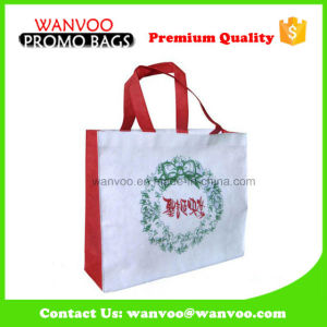 90GSM Non Woven Shoulder Shopper Tote Bag for Christmas pictures & photos