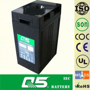 2V500AH AGM, Gel Rechargeable Battery Deep Cycle Solar Power Battery Rechargeable Power Battery Valve Regulated Lead Aicd Battery for Long-Life Battery pictures & photos