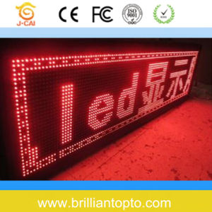 Small Pixel Indoor Single Red LED Screen for Advertising (P4) pictures & photos