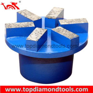 Segment Grinding Wheel Concrete Metal Bond Diamond Grinding Plug pictures & photos