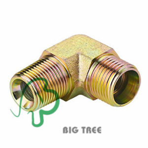 90 Degree Elbow BSPT Male Tube Adapter pictures & photos